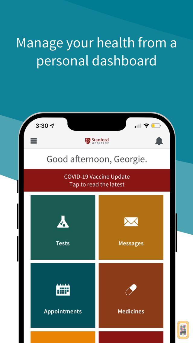 Screenshot - Stanford Health Care MyHealth