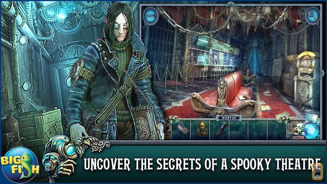 Screenshot - Fear For Sale: Nightmare Cinema - A Mystery Hidden Object Game (Full)