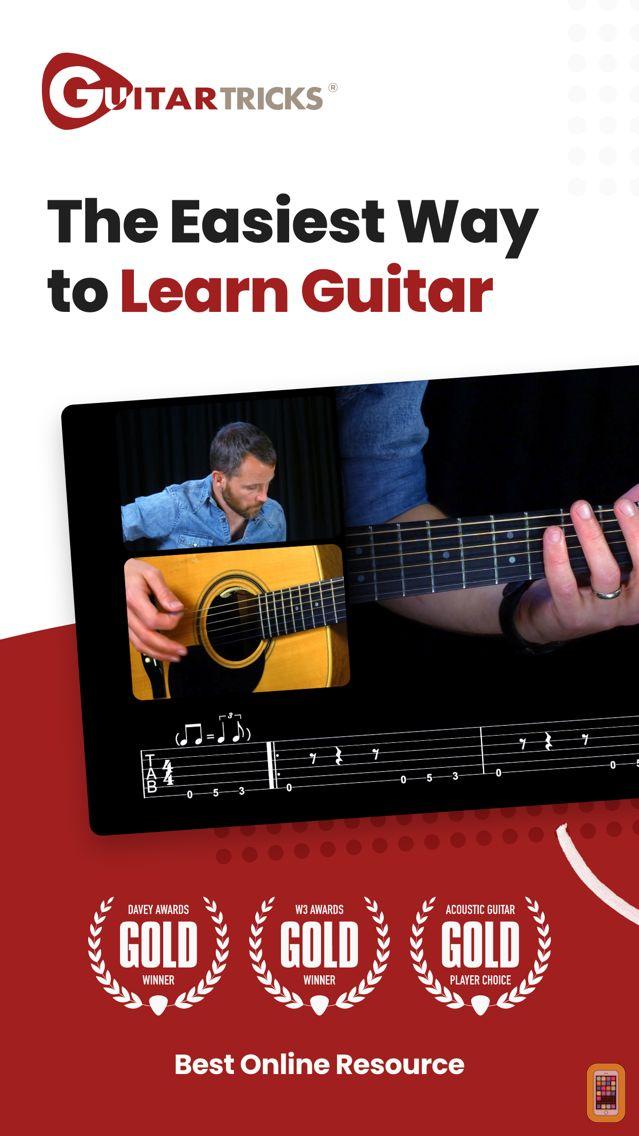 Screenshot - Guitar Lessons - Guitar Tricks