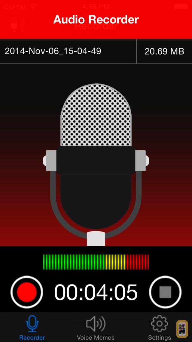 Screenshot - Voice Recorder - HD Audio Recording & Playback