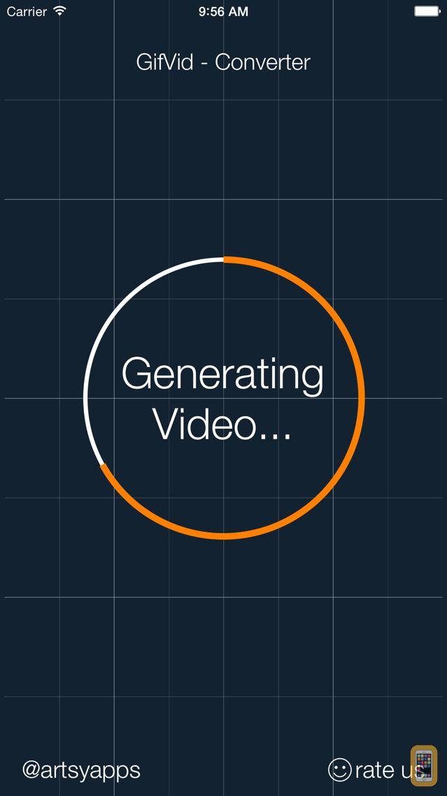Screenshot - GifVid - GIF to Video Converter