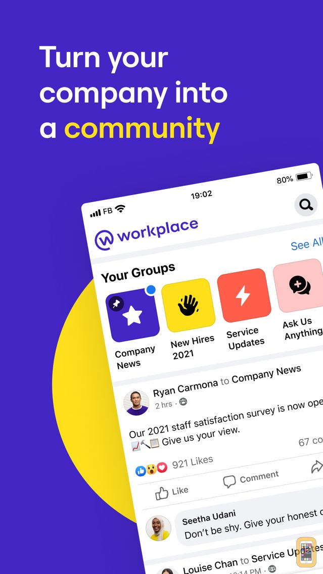Screenshot - Workplace by Facebook