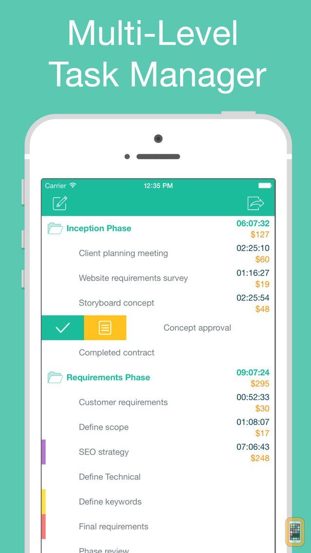 Screenshot - Chrono Plus – Time Tracker