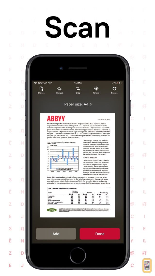 Screenshot - FineScanner AI PRO-PDF Scanner