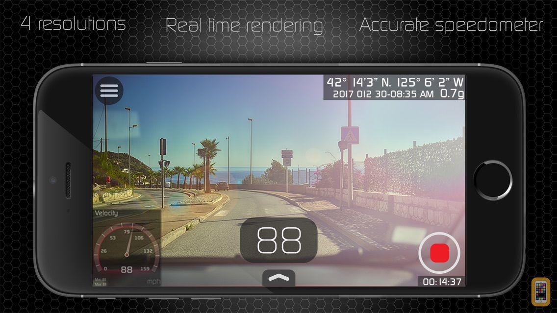 Screenshot - NavCam  (Professional HD Dashcam)
