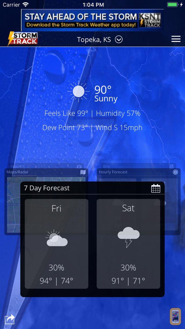 Screenshot - KSNT StormTrack