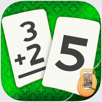 Addition Flash Cards Math Help Quiz Learning Games by Eggroll Games LLC (Universal)