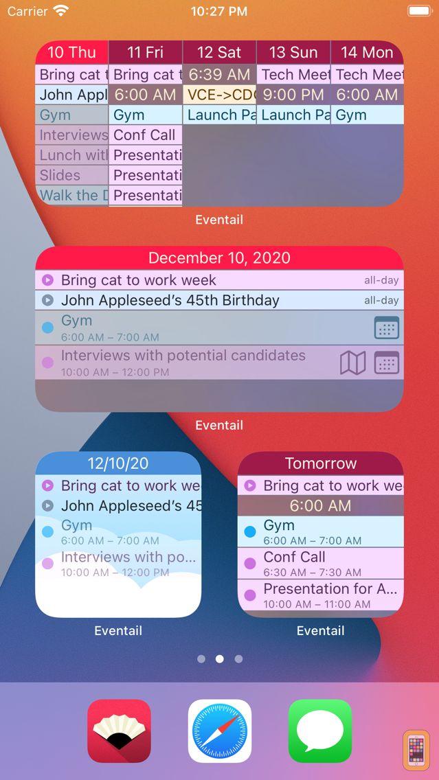 Screenshot - Eventail