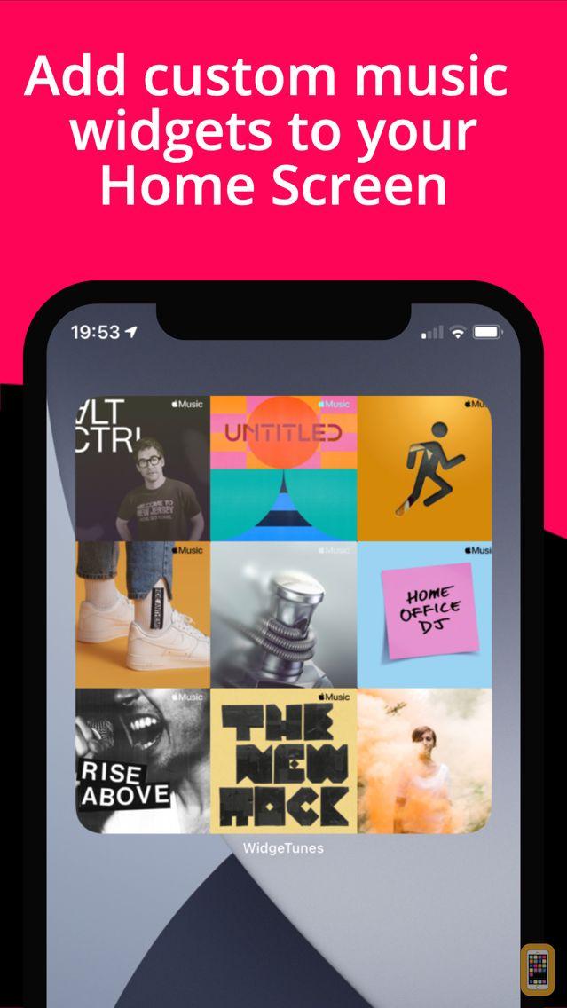 Screenshot - WidgeTunes