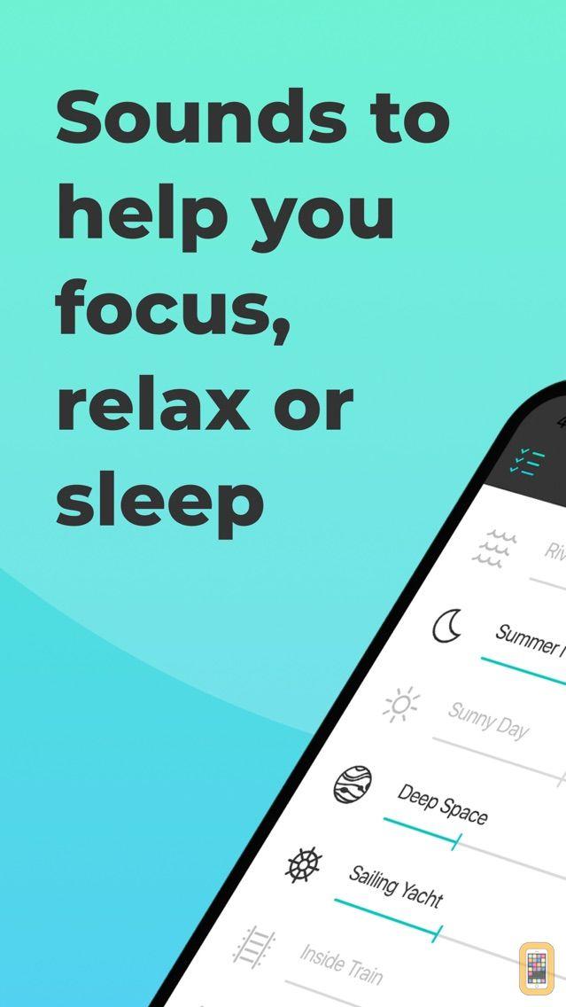 Screenshot - Noizio — focus, relax, sleep