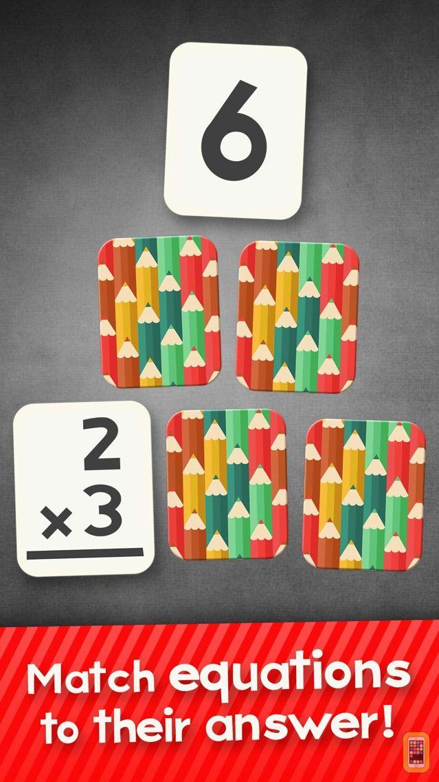 Screenshot - Multiplication Flash Cards Games Fun Math Problems