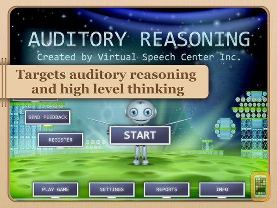 Screenshot - Auditory Reasoning