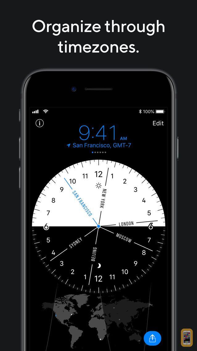 Screenshot - World Clock Pro Mobile