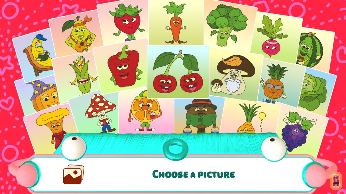 Screenshot - Fruits - Connect the Dots and Add Colors