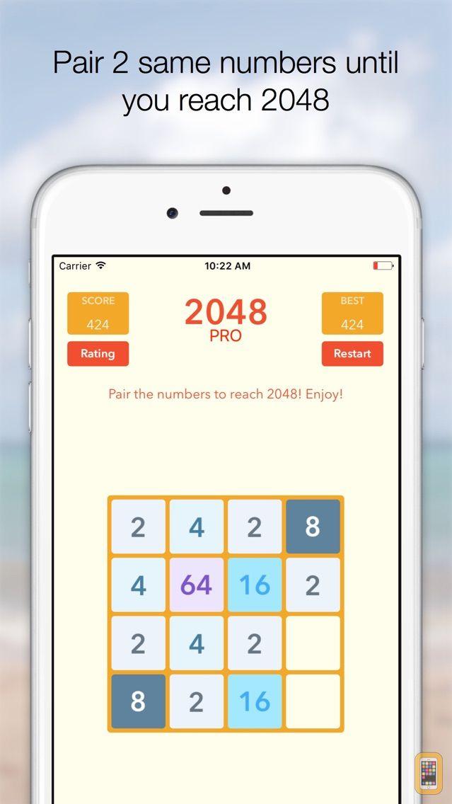 Screenshot - 2048 Tile Pairing Challenge - Professional Version