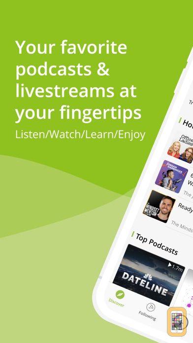 Screenshot - Podbean Podcast App & Player