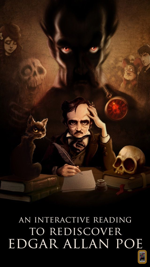 Screenshot - iPoe Vol. 3  – Edgar Allan Poe