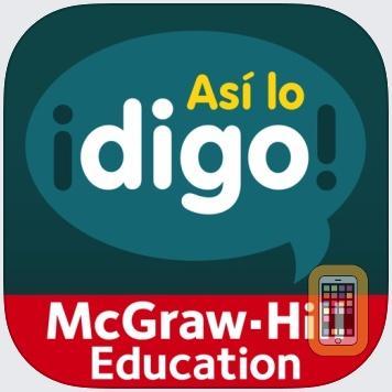 ¡Así lo digo! Level 1 by McGraw-Hill School Education Group (Universal)