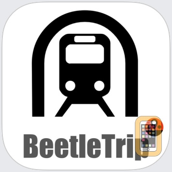 City Maps Offline - Metro Subway Train Transport Transit BeetleTrip Map and Route Planner by Creostorm Mobile (Universal)