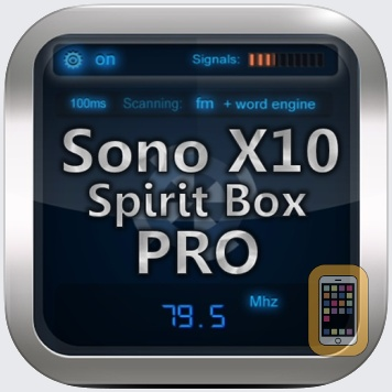Sono X10 Spirit Box PRO for iPhone & iPad - App Info & Stats | iOSnoops