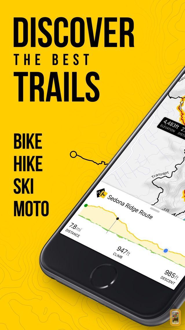 Screenshot - Trailforks - Mountain Bike Map
