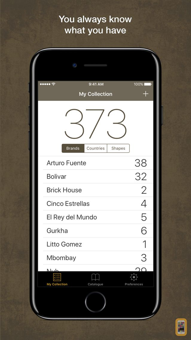 Screenshot - Cigar Register