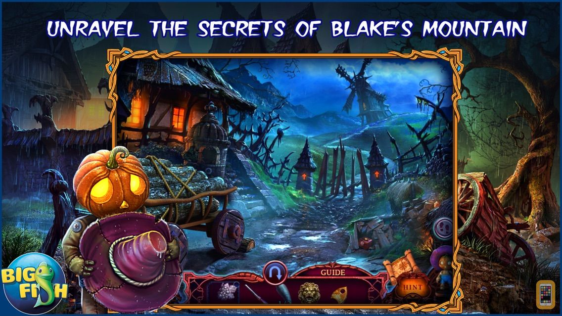 Screenshot - League of Light: Wicked Harvest - A Spooky Hidden Object Game (Full)