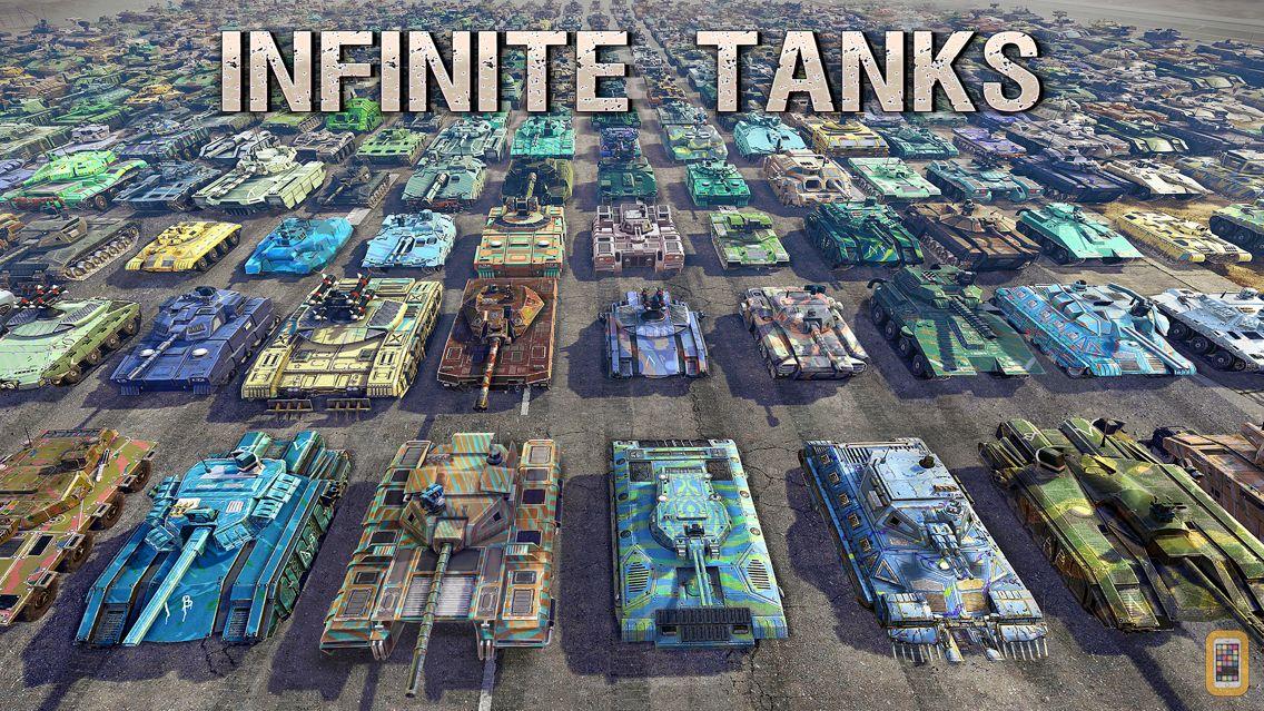 Screenshot - Infinite Tanks