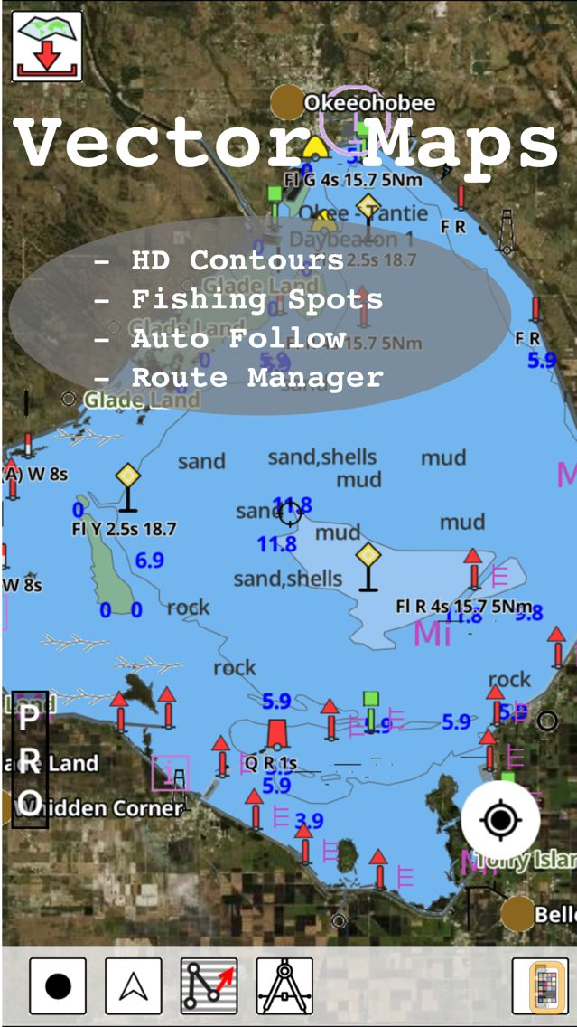 Screenshot - i-Boating: Marine Charts & Gps