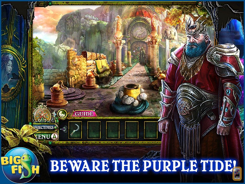 Screenshot - Dark Parables: The Little Mermaid and the Purple Tide HD - A Magical Hidden Objects Game (Full)