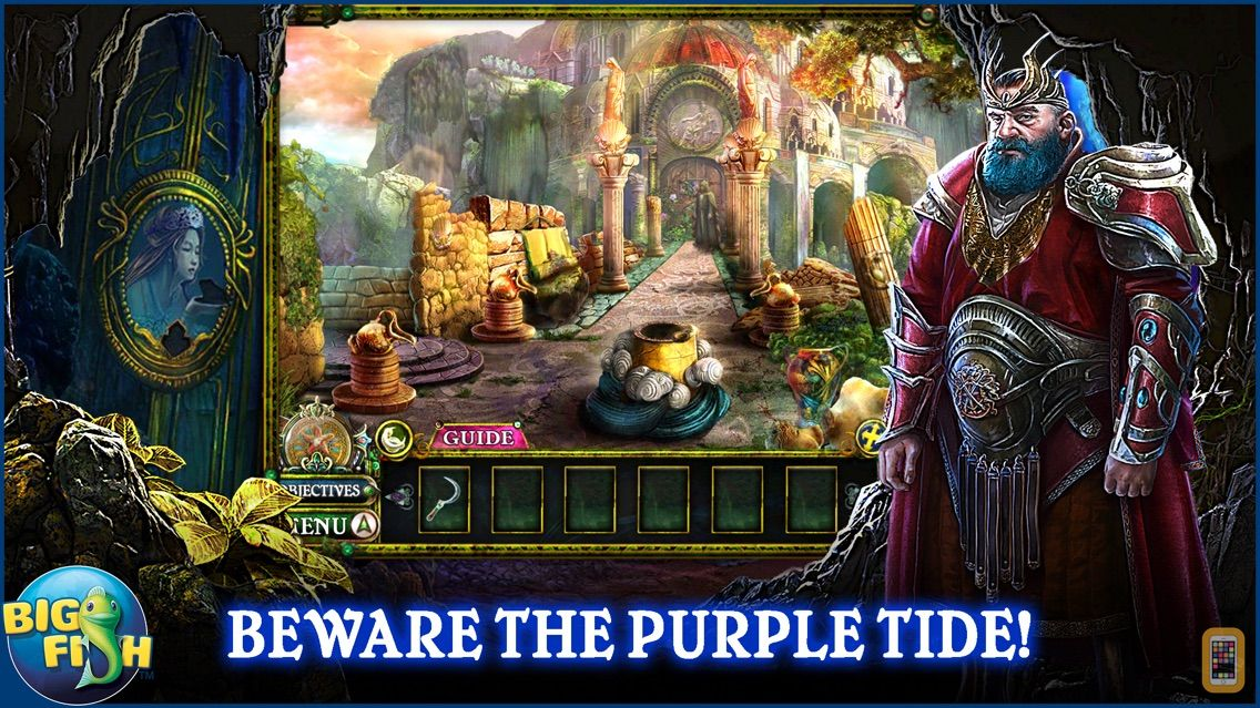 Screenshot - Dark Parables: The Little Mermaid and the Purple Tide - A Magical Hidden Objects Game (Full)