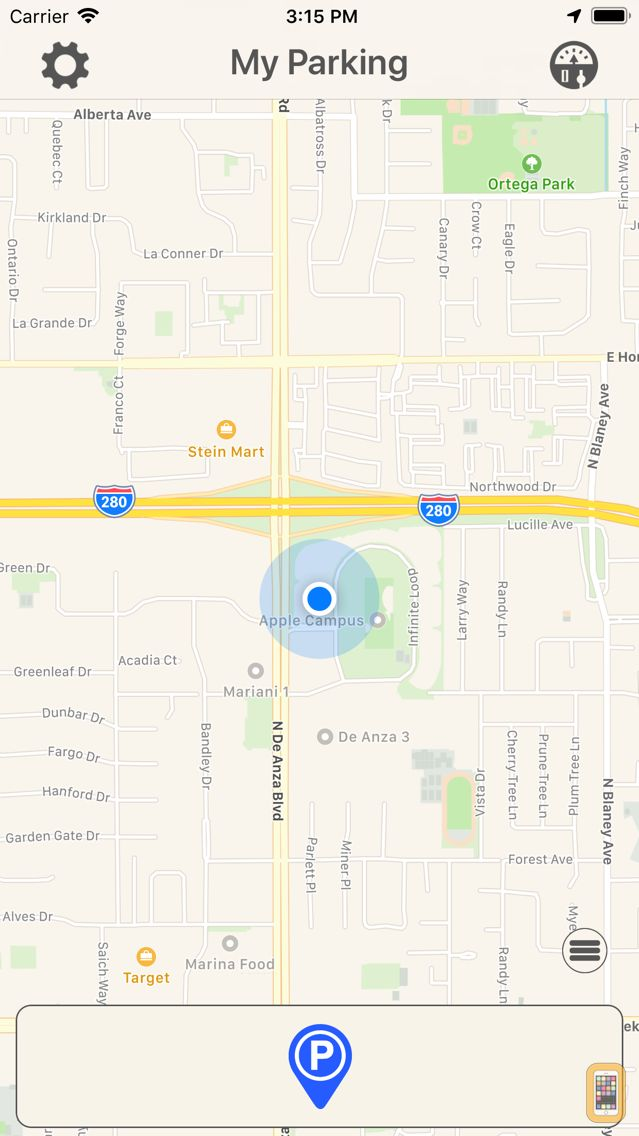 Screenshot - My Parking - Find Car